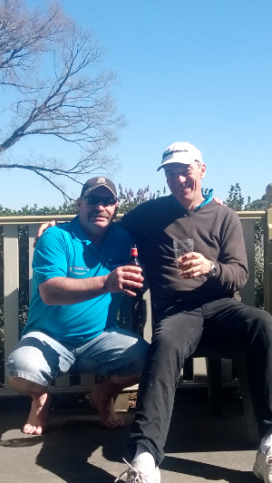 Chrispy and Bill