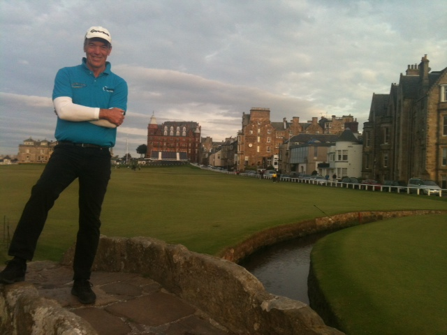 Bill at St Andrews