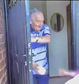 Keith at the door